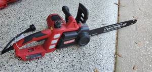 Craftsman 18in Electric Chainsaw