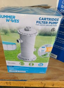 Summer Waves® 1000 GPH Filter Pump for Above Ground Swimming Pools