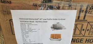 KitchenAid 30 Low Profile Vent Hood